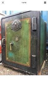 Old Vintage Antique safe