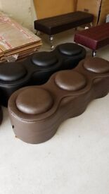 BENCH SEAT, SALON WAITING ROOM BENCH,CASH ON COLLECTION ONLY new uk