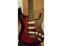 Squier Standard Stratocaster + Foldable Stand for sale