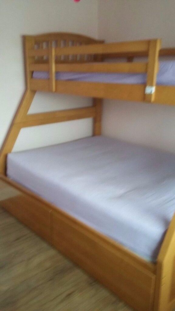 Joseph Maple Triple Bunk Bed In Crawley West Sussex Gumtree