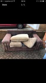 Large 2 seater sofa and armchair for sale Hebburn can deliver