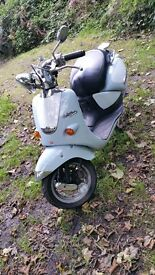 Aprilia Habana custom 50cc 2002 11 months mot