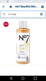 No 7 Tinted Body Oil