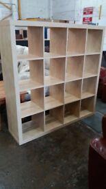Book shelves storage unit