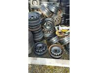 Steel rims for all cars vauxhaul toyota ford nissan renault vw