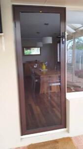 Westral high handle security flyscreen door Carine Stirling Area Preview