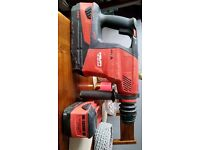 Couple time used hilti drill