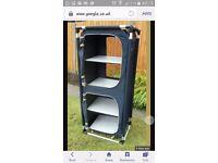 Gelert 5 shelf camping cupboard