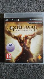 God of War asscession PS3 game for sale 3quid