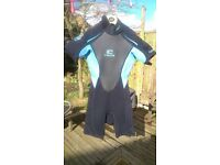 C-Skins ladies shorty wetsuit
