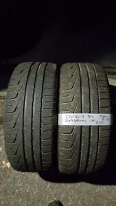 235/40/19 * 2 pneus hiver Pirelli Sottozerowinter 8-9/32