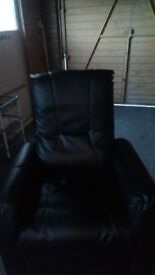 electric reclining armchair suitable for the elderly or back sufferers