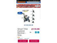 Smart Trike Explorer Recliner Good Condition