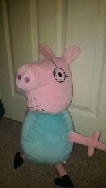 peppa pig huge daddy pig