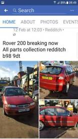 Rover 200 breaking now