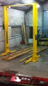 Bradbury 4 ton 2 post ramp