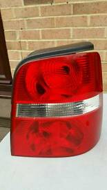 VW Touran rear tail light