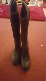 Mountain horse ridibg boots