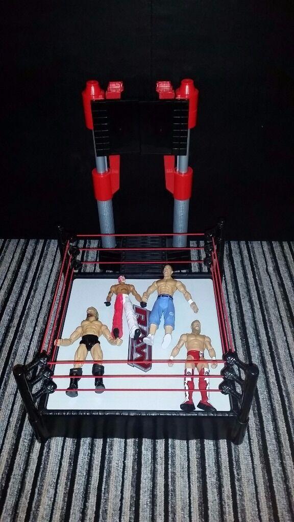 Www Wrestling Ring & Figures