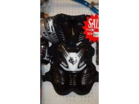 wulfsport motocross quad kids armour approx age 4-8