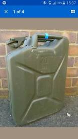 20l metal jerry cans
