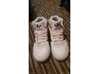 Size 5 Adidas Hi Top Trainers