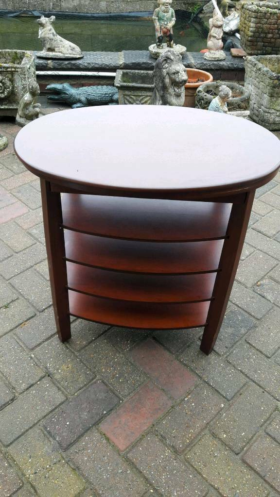 Oval Side Table With A Difference In Hartley Wintney Hampshire Gumtree