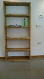 Solid wood shelf unit / shelves