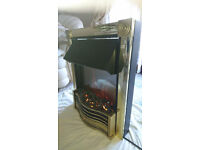 Dimplex electric fire . good condition fully working hardly used