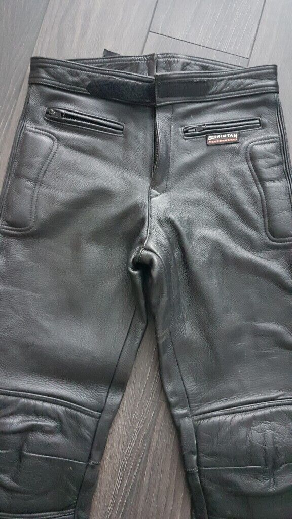 nice cheap new images of lace up in KIDS SKINTAN LEATHER MOTORBIKE TROUSERS AGE 14 | in North Shields, Tyne and  Wear | Gumtree