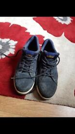 Size 9 steal toe cap trainers used once