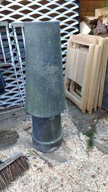 Vortex chimney pot