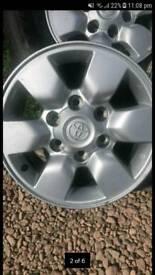Toyota alloys