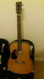 Redwood acoustic Guitar