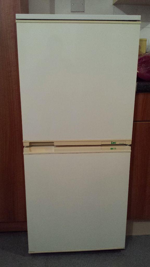 lec fridge freezer old model but in very good condition. Black Bedroom Furniture Sets. Home Design Ideas
