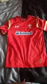 Welsh jersey junior medium.