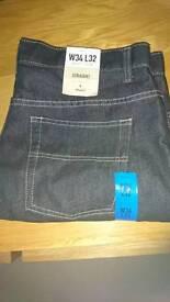 Bnwt mens jeans - 34 waist - xmas