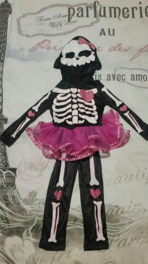 Skeleton Halloween costume 1-2 years old