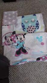 2 sets of bedding (girls) for toddler bed