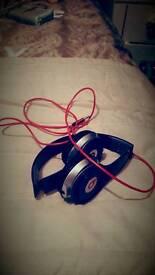 Purple beats solo headphones