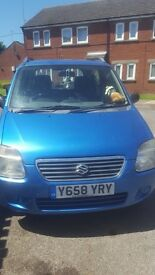 Suzuki Wagon R+ Blue 1.3 2001 Great Little Runner HEAVILY REDUCED NEED TO SELL Priced To Sell