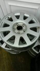 Audi 10 spoke alloys 16' used