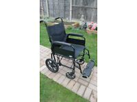 Lomax folding wheelchair