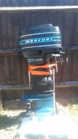 Outboard spares or repair