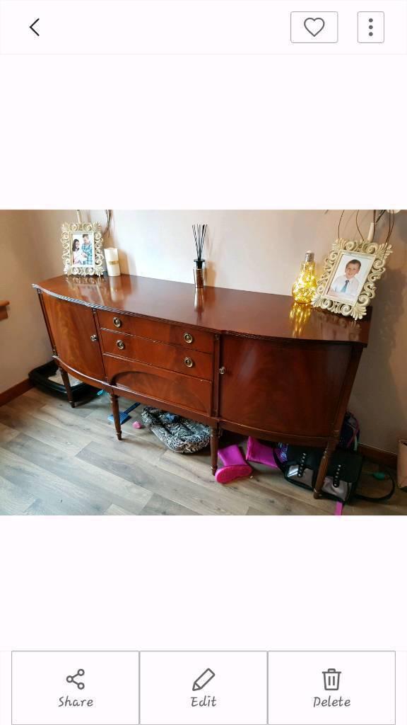 Large vintage sideboard