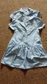 2 x girls school dresses