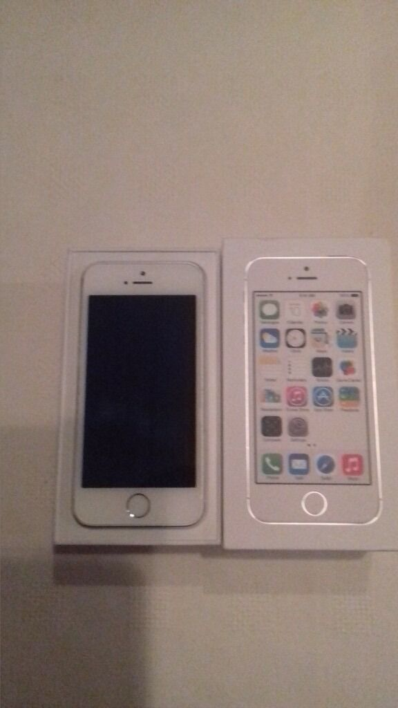 Unlocked. IPhone 5S. Mint Conditionin Old Kilpatrick, GlasgowGumtree - Iphone 5S in mint condition. Comes with box, new apple earphones and charger. Kept in case since new