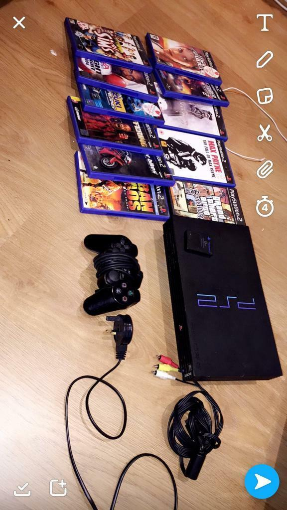 Ps2 great condition over 10 great games