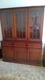 Dark oak reproduction furniture