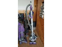 grey Dyson dc 08 vacum Cleaner bagless tools 1 week guarantee no texing phone only with